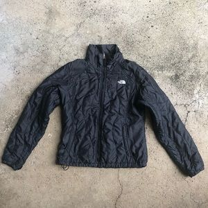 The North Face Black quilted Puffer Jacket M